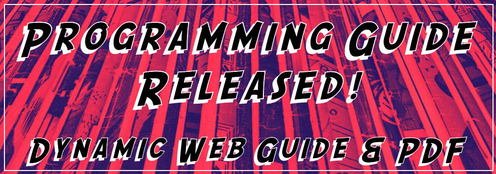 Programming Guide Released!